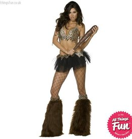 Smiffys *DISC* Cave Babe Costume