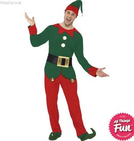 Smiffys Male Elf Costume
