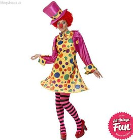 Smiffys Clown Lady Costume