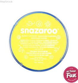 Snazaroo Snazaroo Classic Pale Yellow 18ml pot