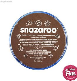 Snazaroo Snazaroo Classic Light Brown 18ml pot