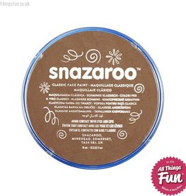 Snazaroo Snazaroo Classic Beige Brown 18ml pot