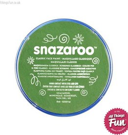 Snazaroo Snazaroo Classic Grass Green 18ml pot