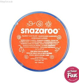 Snazaroo Snazaroo Classic Orange 18ml pot
