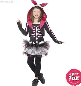 Smiffys *DISC* Skelly Rabbit Costume