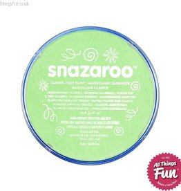 Snazaroo Snazaroo Classic Pale Green 18ml pot