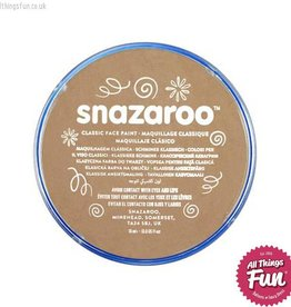 Snazaroo Snazaroo Classic Light Beige 18ml pot