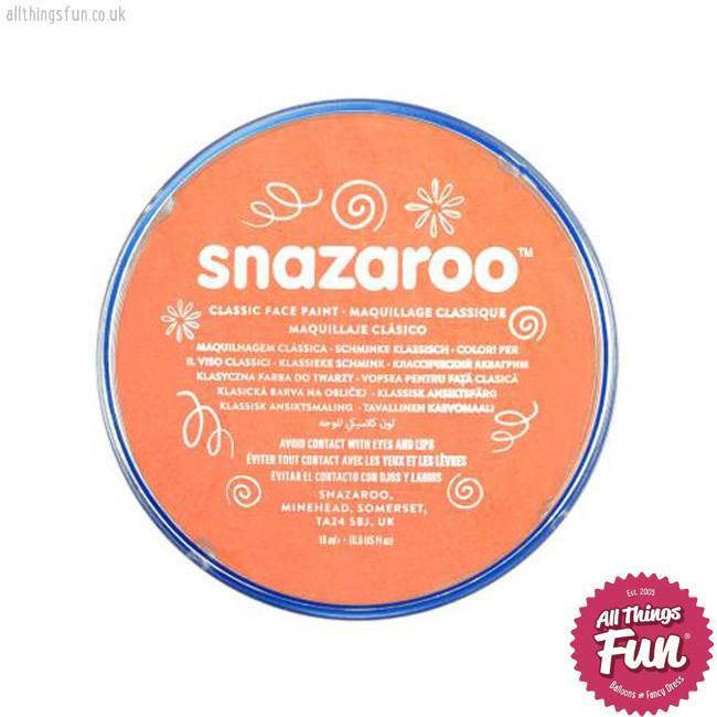 Snazaroo Snazaroo Classic Apricot 18ml pot