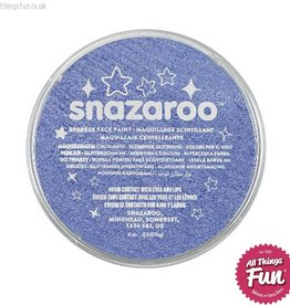 Snazaroo Snazaroo Sparkle Blue 18ml pot
