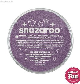 Snazaroo Snazaroo Sparkle Lilac 18ml pot