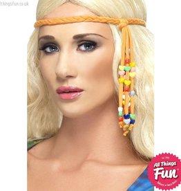 Smiffys 1960's Hippie Beaded Headband