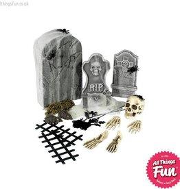 Smiffys 24 Piece Graveyard Collection