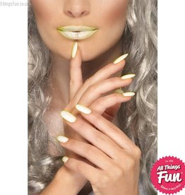 Smiffys Glow in the Dark Lipstick and Nail Polish Set