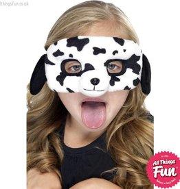 Smiffys *DISC* Child Plush Eyemask, Dalmatian