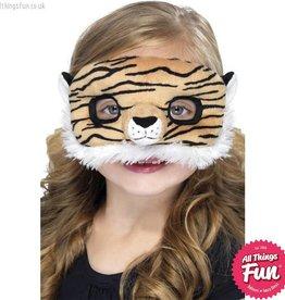 Smiffys Child Plush Eyemask, Tiger