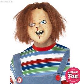 Smiffys Chucky Latex Overhead Mask with Hair
