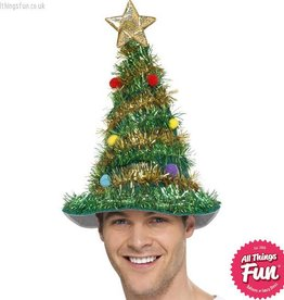 Smiffys Christmas Tree Hat