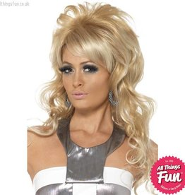 Smiffys 60's Blonde Beauty Queen Wig