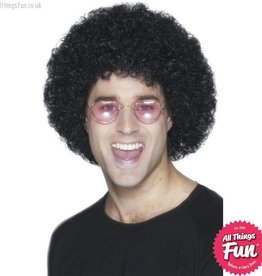 Smiffys Black Afro Wig