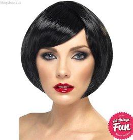 Smiffys Black Babe Wig