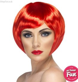 Smiffys Red Babe Wig
