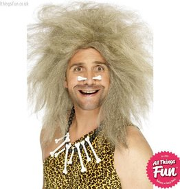 Smiffys Crazy Blonde Caveman Wig