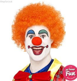 Smiffys Orange Crazy Clown Wig