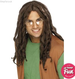 Smiffys Brown Dreadlock Wig