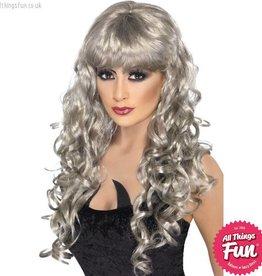 Smiffys Silver Siren Wig