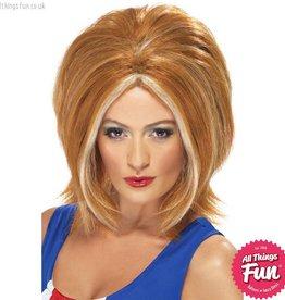 Smiffys Ginger Girl Power Wig