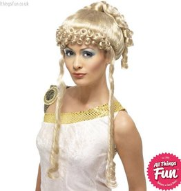 Smiffys Blonde Greek Goddess Wig