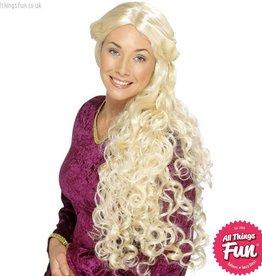 Smiffys Blonde Renaissance Wig