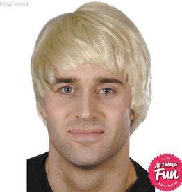 Smiffys Blonde Guy Wig