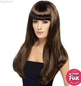 Smiffys Brown Babelicious Wig