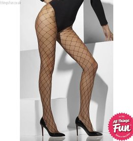 Smiffys Black Diamond Net Tights