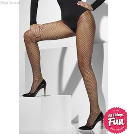 Smiffys Black Lattice Net Tights