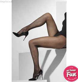Smiffys Black Fishnet Tights