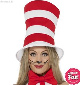 Smiffys Cat In The Hat - Adult Hat