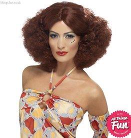 Smiffys 70's Auburn Afro Wig