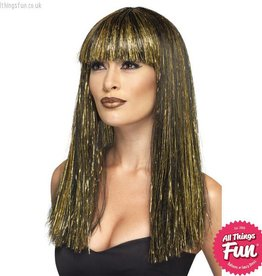 Smiffys Egyptian Black Goddess Wig