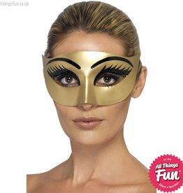 Smiffys Evil Cleopatra Gold Eyemask