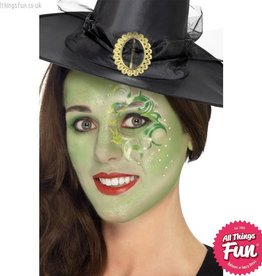 Smiffys Pretty Witch Make Up Kit with Tattoos & Gems