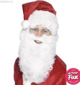 Smiffys White Santa Beard