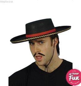 Smiffys Black Spanish Hat