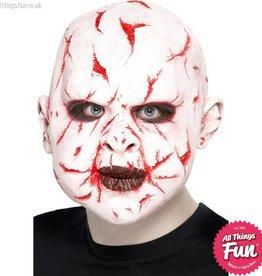 Smiffys Scar Face Overhead Latex Mask