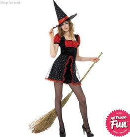 Smiffys Teen Star Witch Costume