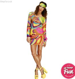 Smiffys Fever 70's Flower Power Costume