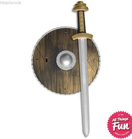 Smiffys Weapons Set with Sword and Shield