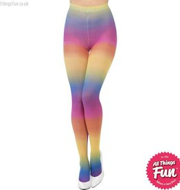 Smiffys Rainbow Opaque Tights