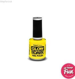 Smiffys Glow in the Dark Yellow Nail Polish